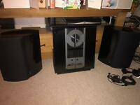 Bang & olufsen overture and beolab 4000 speakers