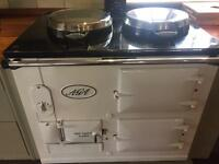 Immaculate Oil AGA 2 Oven