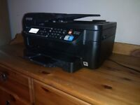 Epson Includes ink cartridges (FULL) All-in-One Printer with Wi-Fi + 5 spare ink cartridges!!!
