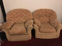 Free two armchairs for collection