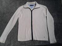 Designer Tommy Hilfiger zip top jacket / cardigan