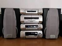 Technics SC-EH780 stacking system