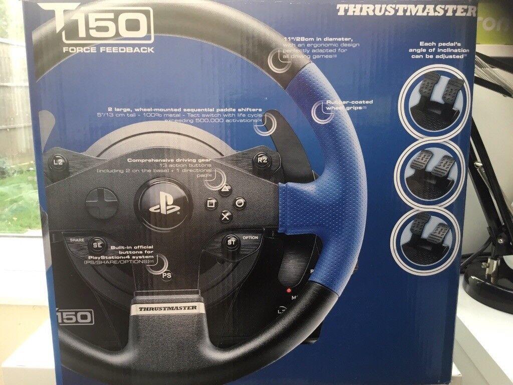 Thrustmaster T150  Steering wheel  Like new, still in box    in Milton  Keynes, Buckinghamshire   Gumtree