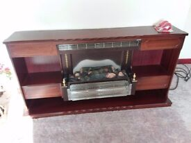 Electric fire and surround working order.