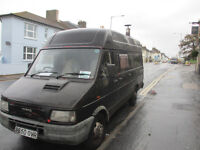Iveco Turbo Daily Camper/ Live in vehicle - 80,000 miles, solar pv + wood burner installed