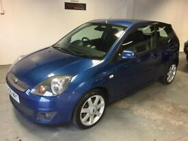 "Limited Edition Ford Fiesta 1.25 Zetec ""Blue"" serviced and ready to drive away today"