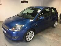 """Limited Edition Ford Fiesta 1.25 Zetec """"Blue"""" serviced and ready to drive away today"""