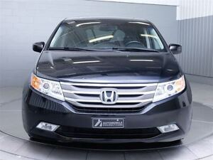 2011 Honda Odyssey TOURING A/C MAGS TOIT CUIR NAVIGATION TV/DVD  West Island Greater Montréal image 2