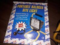 Portable site light