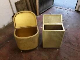 lyold loom baskets x 2