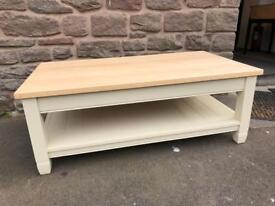 Neptune painted solid oak coffee table RRP £610 * free furniture delivery *