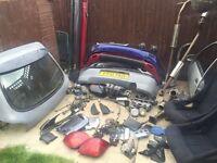 Fiesta car parts