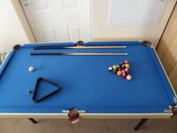 4 ft 6 inch 'Debut' Pool table