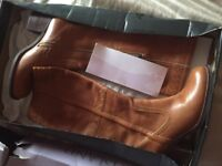 RIVER ISLAND light brown boots size 5