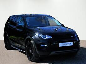 Land Rover Discovery Sport TD4 HSE BLACK (black) 2017-03-18