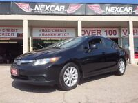 2012 Honda Civic EX AUT0 A/C SUNROOF ONLY 139K