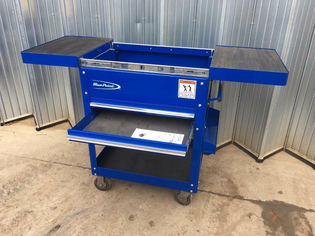 Blue Point From Snap On Service Tool Trolley Box In