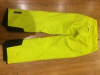 Tog 24 Active Series Women's Ski Trousers/Salopettes GB 8/10 yellow/green