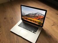 """MacBook Pro 15"""" Retina, Intel i7, 16GB RAM, 380GB Storage, Mint Cond."""