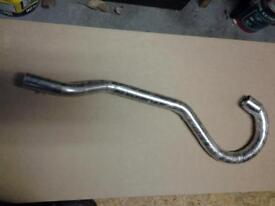 Trials exhaust front pipe for Enfield Bullet.