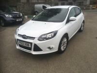 2012 Ford focus 1.6 tdci titanium 5 dr.(DIESEL £20 TAX)