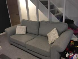Fab nearly new modern sofa!