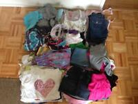 GILR'S CLOTHES SIZE 8,10 AND UP USED