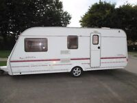 Coachman Amara 2003 4 berth clean family caravan comes with all you need to start touring
