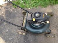 2 lawn mowers $50 for both