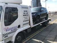 Elite recovery transport and breakdown services