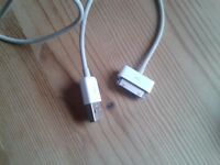 Apple 30pin to USB cable brand new