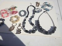 Necklaces & Bracelets most are new