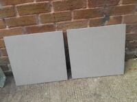 """Grey Floor/Wall tiles 18"""" x 18"""" at one pound each [5 off]"""