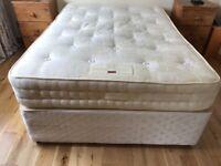 Double bed divan and matress