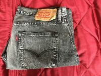 FOR SALE 1 PAIR OF GENTS LEVI 501 CT DENIMS