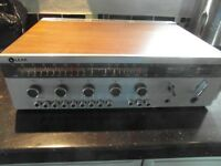 Vintage LEAK DELTA 75 TUNER/AMP working - FM/MW/LW, Twin speakers, disc/tape/aux inputs