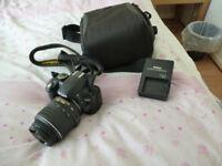 Nikon D3100 Camera with AF-S 18-55 VR lens
