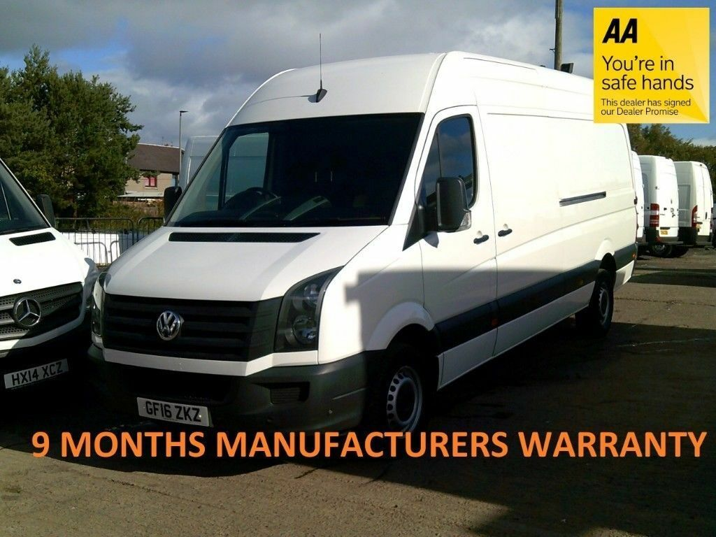 839e8e76d7 Volkswagen Crafter 35 2.0 Tdi 136 LWB H Roof  9 MONTHS VW WARRANTY   60%  DISCOUNT FROM NEW