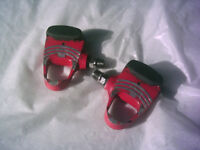 LOOK Carbo Pro clipless bike bicycle pedals - Ferrari Red
