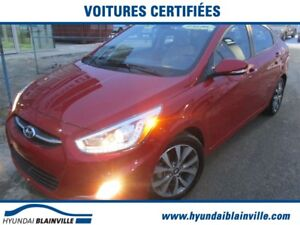 2016 Hyundai Accent GLS, TOIT OUVRANT, MAGS, BLUETOOTH, BANCS CH