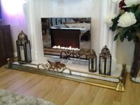 Decorative Fireplace Fender