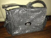 PRICE REDUCED Glitter change bag