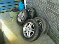 Cheap wheels and tyres
