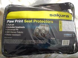 Car seat protectors - brand new