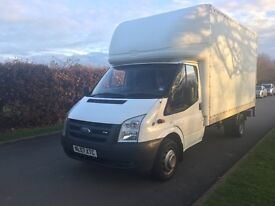 Ford transit luton box van ideal for removals