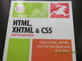 Visual Quickstart Guide - HTML, XHTML & CSS (Sixth Edition