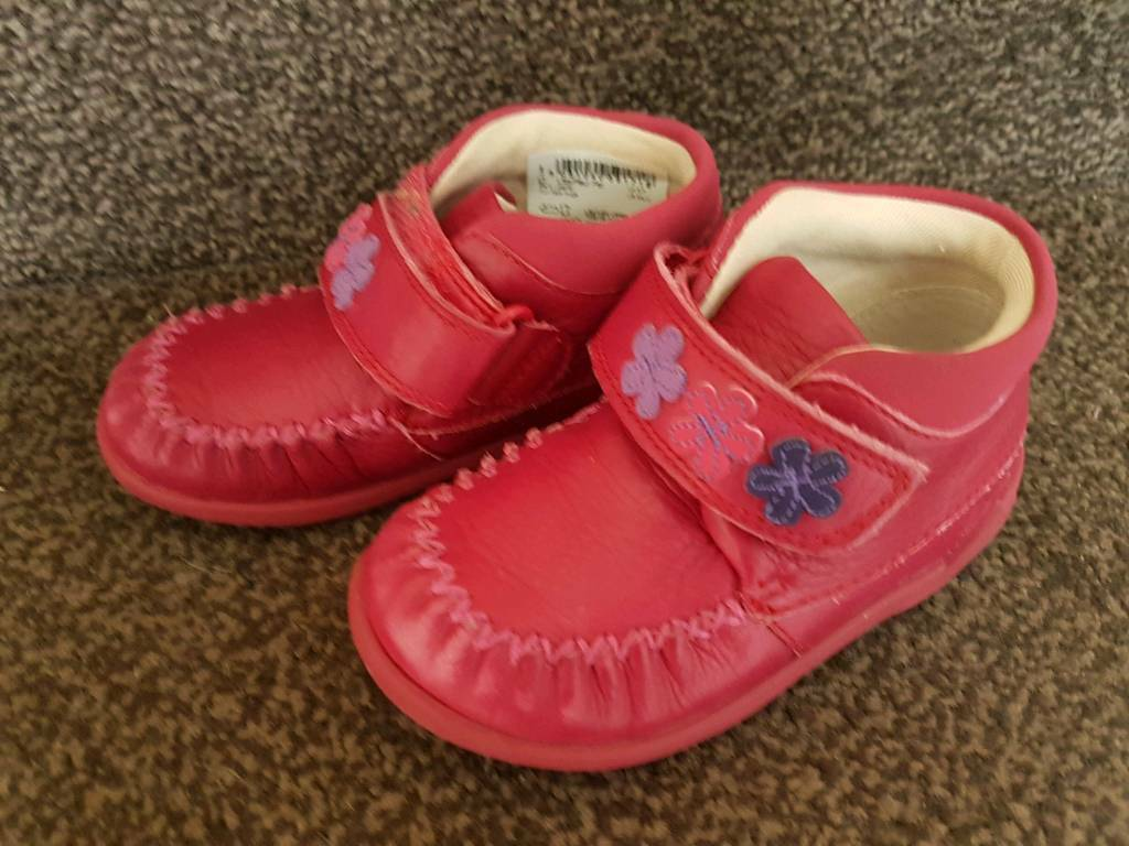 Girls Clarks shoes size 5