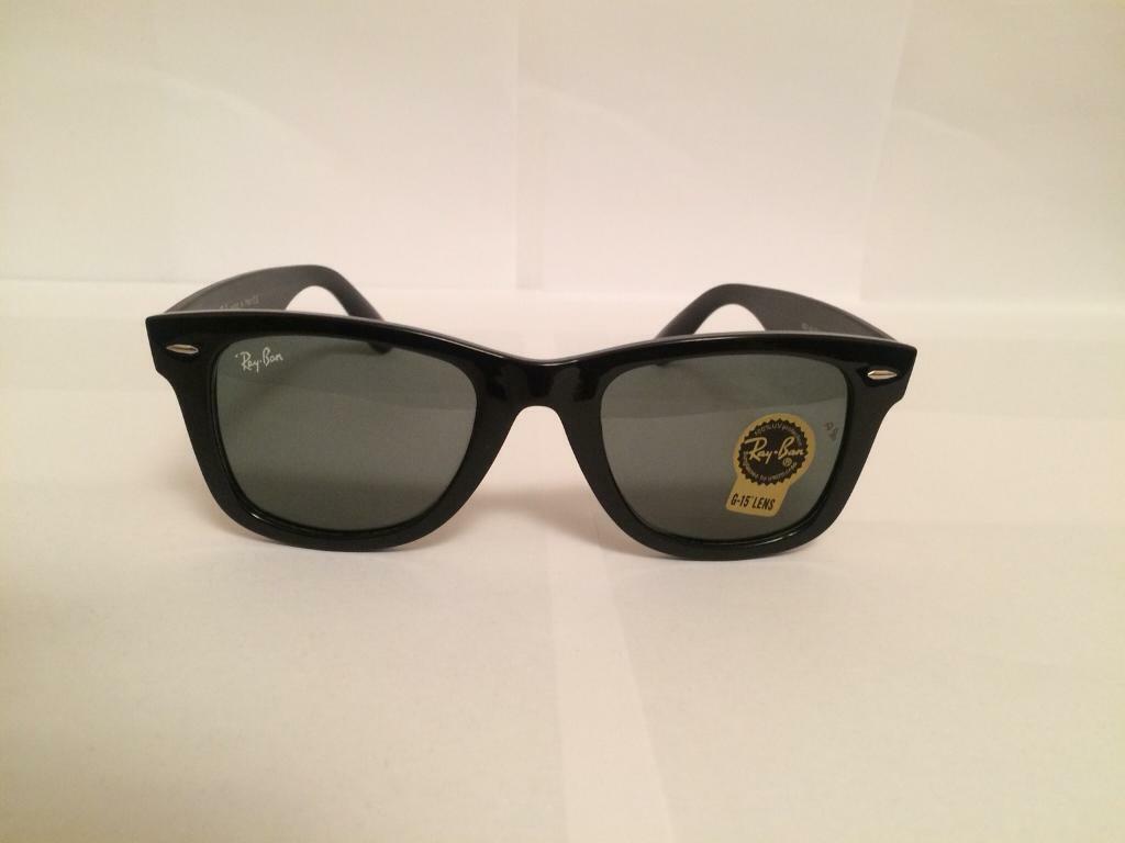 b2c28ccde86 RayBan Wayfarer Sunglasses RB2140 (gloss black)