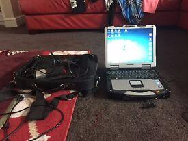 Panasonic Toughbook Delphi Diagnostics Computer