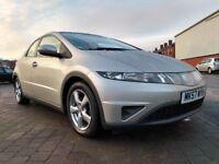 2007 (57 reg), Honda Civic 1.8 i-VTEC SE 5dr Hatchback, £2,295 p/x welcome